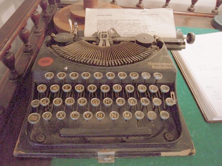 Remington Portable - Márai Sándor írógépe. Fotó: Eva Müller
